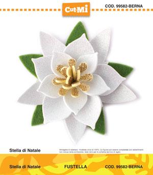 Stella Di Natale In Stoffa.Impronte D Autore Stamping Novita Ultimi Arrivi 99582
